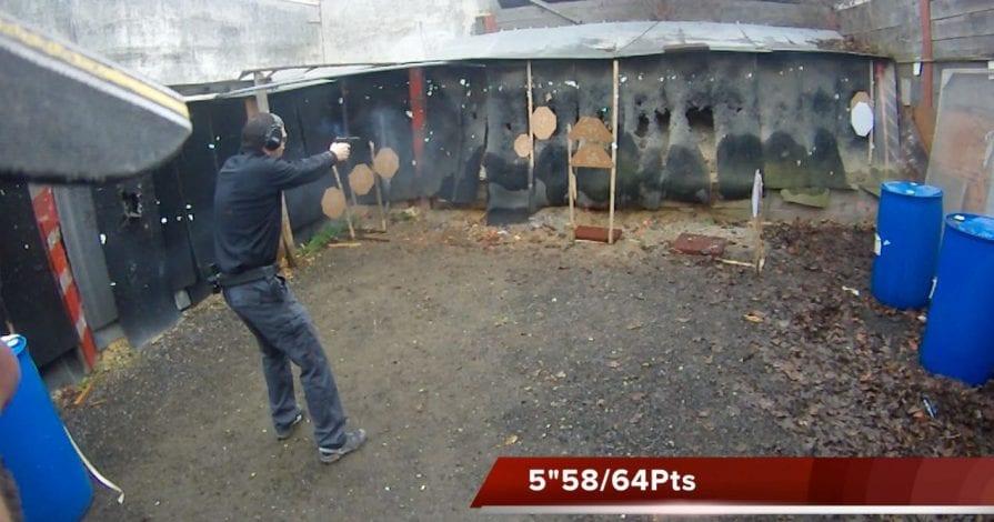 Entrainement match TV Handgun