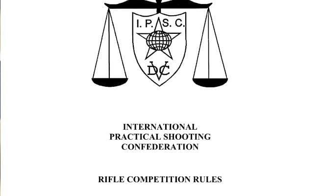 2019 IPSC Rule Books