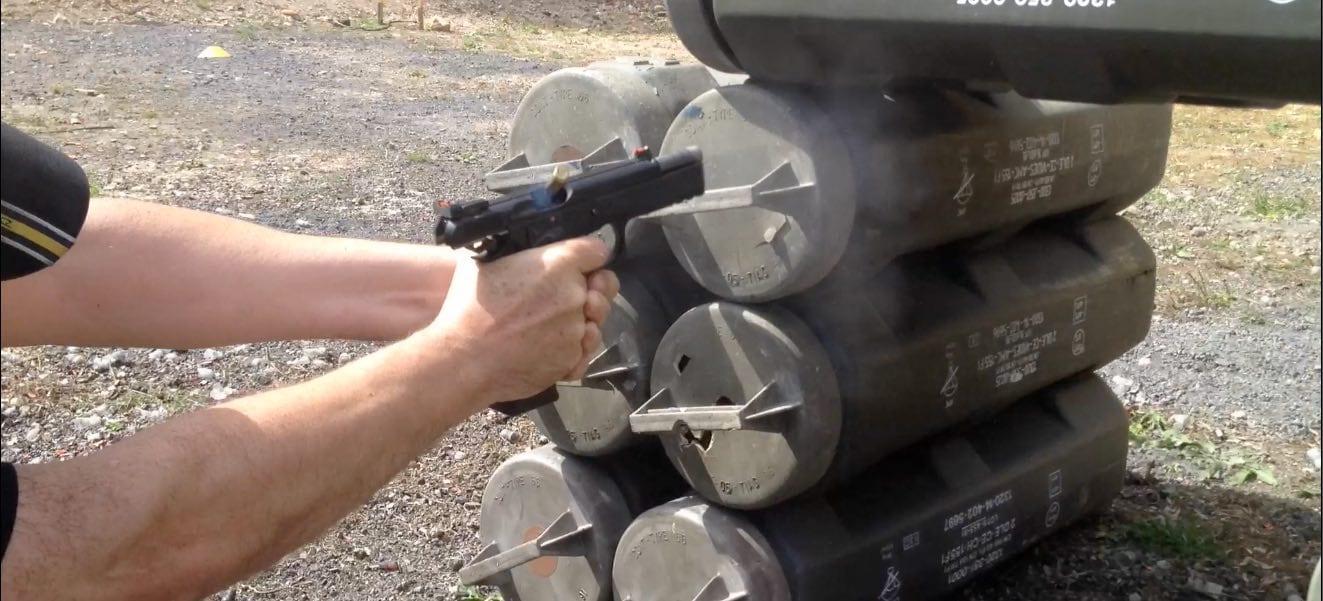 entrainement TSV Handgun à Vertus