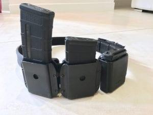 Ceinture ipsc rifle chargeurs ar15