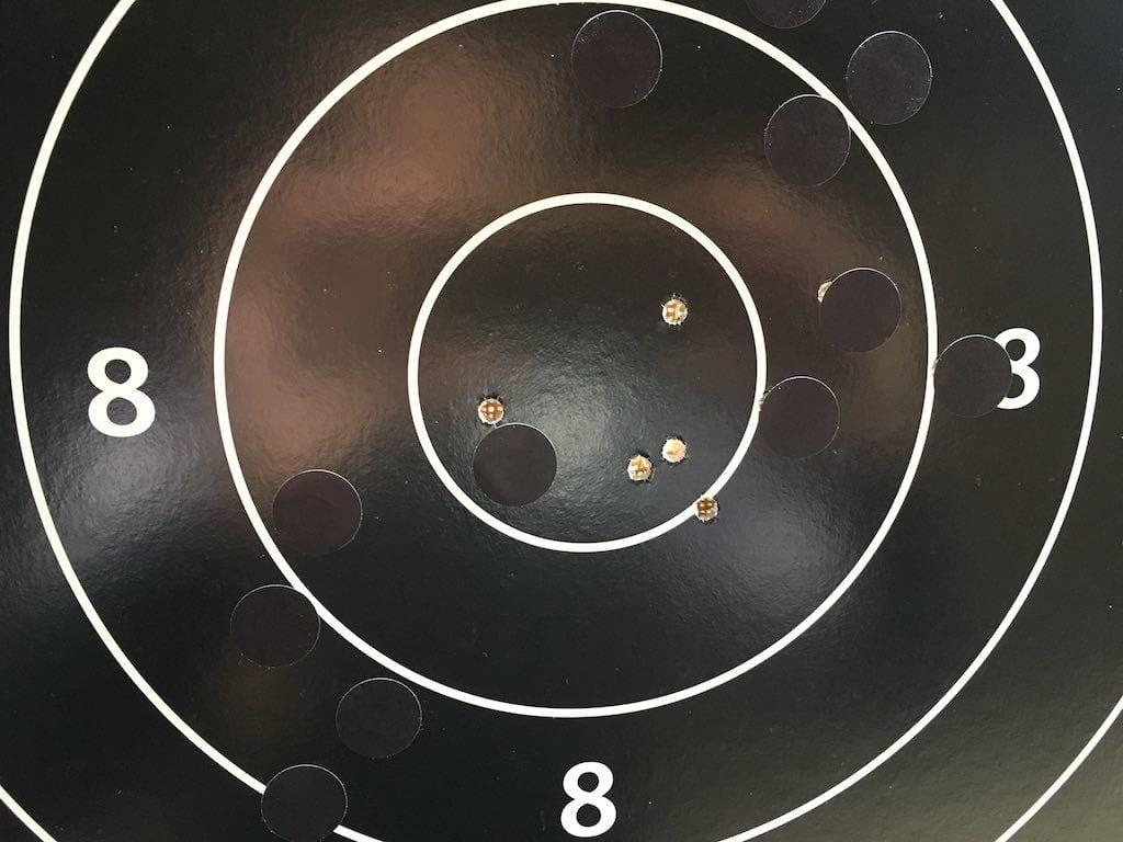 5 balles à 200m, 5 dix
